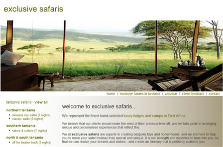exclusive safaris