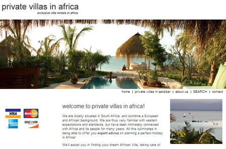 Private Villas in Africa