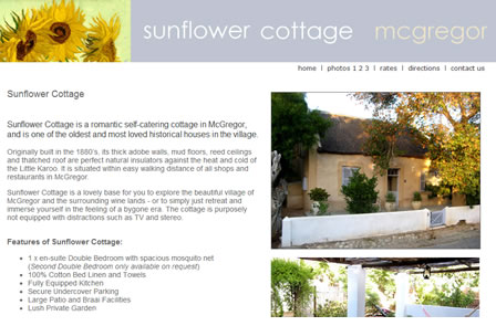 Sunflower Cottage